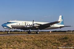 V5-NCF / VFA 11.1997 (propfreak) Tags: propfreak slidescan vfa victoriafalls fvfa v5ncf dc6 nca namibiacommercialaviation yuafa yugoslavairforce 7451 73101 7511 gmb110 zambiaairforce n996dm redbull theflyingbulls airnamibia