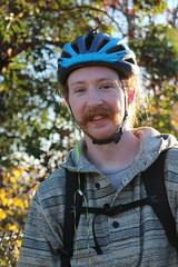 Burke Gilman Trail (Seattle Department of Transportation) Tags: sdot seattledepartmentoftransportation bike burkegilman sunny helmet smile nikiseligman