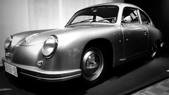almost Porsche - amazing, what the two guys from Dresden did in the 1950s (dont expect art) Tags: porsche ddr dresden lookalike bw gdr