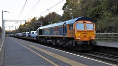 Additional Pride (TimboM) Tags: hartford wcml hartfordstation class66 66773 pride rainbow prideofgbrailfreight shed emd cars cartrain ipa cartic stva 6x41 6x43 6l48 6l47 additional gbrf gbrailfreight