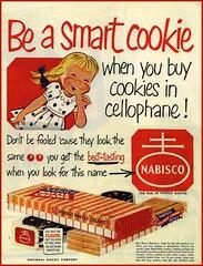 Smart Cookie (novice09) Tags: advertising ad advert nabisco magazinead