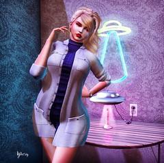 Cosas de otros mundos (Yhesy) Tags: rubia blond blogger lemme xxxtasi woman truth maitreya akdeluxe akeruka secondlife sexy