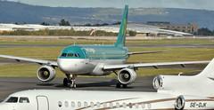 EI-DEN, Belfast City Airport (Albert Bridge) Tags: belfastcityairport aerlingus tagaviation airbusa320 dassaultfalcon