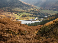Looking down on Dove Stone's (Craig Hannah) Tags: saddleworth pennine peakdistrictnationalpark outdoors countryside autumn fall craighannah october 2019 canon landscape peakdistrict dovestones chewvalley moorland uplands yeomanheyreservoir dovestonesreservoir greenfield westriding yorkshire oldham greatermanchester england uk photography