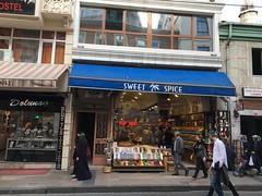 Sweet spice (lazy south's travels) Tags: tourism modesty modest hijab woman scene scenes street road district fatih beyoğlu turkey turkish istanbul