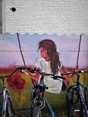 Kitsune / Merelbeke - 25 okt 2019 (Ferdinand 'Ferre' Feys) Tags: gent ghent gand belgium belgique belgië streetart artdelarue graffitiart graffiti graff urbanart urbanarte arteurbano ferdinandfeys