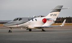 Jet Story SP-CHE, OSL ENGM Gardermoen (Inger Bjørndal Foss) Tags: spche jetstory honda hondajet ha420 osl engm gardermoen