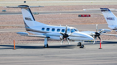 Piper PA-42-1000 Cheyenne 400 N85SL (ChrisK48) Tags: kdvt aircraft 1984 n85sl cheyenne400 phoenixaz piperpa421000 dvt airplane phoenixdeervalleyairport