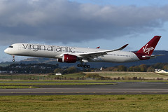 G-VPRD Virgin Atlantic Airways Airbus A350-1041 at Glasgow Abbotsinch Airport on 27 October 2019 (Zone 49 Photography) Tags: aircraft airliner aeroplane october 2019 glasgow scotland egpf gla abbotsinch airport vs vir virgin atlantic airways virginatlantic airbusa350 airbus a350 350 1000 1041 gvprd