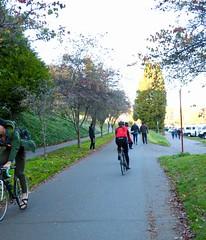 Burke Gilman Trail (Seattle Department of Transportation) Tags: sdot seattledepartmentoftransportation bike burkegilman sunny nikiseligman