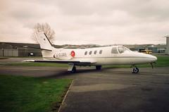 G-DJAE Cessna Citation 500 (Source Group Ltd) (Aircaft @ Gloucestershire Airport By James) Tags: gloucestershire airport gdjae cessna citation 500 source group ltd bizjet egbj james lloyds