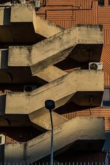 Serpent de béton (JulienLec) Tags: stairs escalier architecture prishtina kosovo