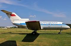 CCCP-87855 Yakolev YAK-40 @ Minsk Borovaja (_Illusion450_) Tags: minsk borovaja borovaya minskaya ummb belarusian aviation museum cccp87855 yakolev yak40 yk40 aeroflot aeroflotrussianairlines aircraft airplane airfield aeroplane aeronautical aerodrome aerodrom avion belarus belarussian