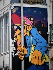 Resto / Oude Houtlei - 25 okt 2019 (Ferdinand 'Ferre' Feys) Tags: gent ghent gand belgium belgique belgië streetart artdelarue graffitiart graffiti graff urbanart urbanarte arteurbano ferdinandfeys resto