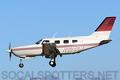 N9246M (SoCalSpotters) Tags: pa46 malibu piper socalspotters kvny vannuys n9246m shenkirschconsulting