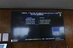 CRESTL - Subcomissão Temporária sobre o favorecimento à Leros (Senado Federal) Tags: crest subcomissã£otemporã¡ria leros reuniã£o planodetrabalho paineleletrã´nico quã³rum brasãlia df brasil subcomissãotemporária reunião paineleletrônico quórum