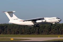 Aviacon Zitotrans - Ilyushin IL-76TD - RA-76842 (Jesse Vervoort) Tags: airplane aeroplane aircraft plane jet ilyushin il76 russian smoker wodka eindhoven eheh ein
