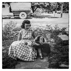 (jsrice00) Tags: portrait mother son film 1950s