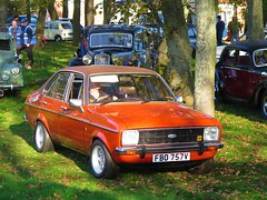Ford Escort (72) (peter_b2008) Tags: ford escort ghia fbo757v classiccars