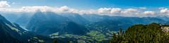 From The Eagle's Nest (George Plakides) Tags: theeaglesnest hitler germany panorama germanalps königssee lake bavaria