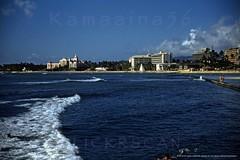 Kuhio Breakwater Offshore 1955 (Kamaaina56) Tags: 1950s waikiki hawaii offshore slide