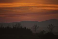 (Pawel Wietecha) Tags: landscape clouds sunset sun sky blue red yellow orange travel trip color light colors vivid outside outdoor journey hills
