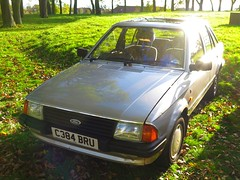 Ford Escort (107) (peter_b2008) Tags: ford escort ghia c384bru classiccars