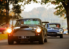 The British Are Coming! (Jeff_B.) Tags: car cars exoticcars supercars connecticut caffeineandcarburetors automobile newcanaan carsmeets carshows carsandcoffee ctcars wavenypark aston astonmartin db4 englishcar grandtourere