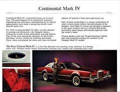 1976 Continental Mark IV Pucci Edition (aldenjewell) Tags: 1976 lincoln continental mark iv pucci edition mailer brochure designer series