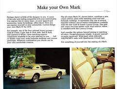 1976 Continental Mark IV Gold & Cream Luxury Group (aldenjewell) Tags: 1976 lincoln continental mark iv gold cream luxury group mailer brochure