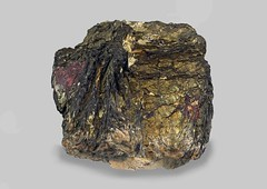 Covellite (Ron Wolf) Tags: covellite earthscience geology mineralogy rwpc summitville crystal hexagonal macro mineral nature ore colorado