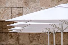 Getty Lines (Robert Borden) Tags: umbrella pattern four quartet lines getty geometry thegetty thegettycenter jpgm thegettymuseum gettyumbrellas losangeles lalaland la socal cali california sunday white