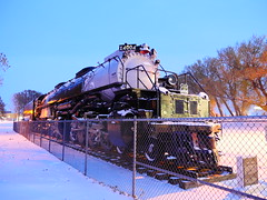 UP Big Boy 4004 Resting In The Snow! (844steamtrain) Tags: 844steamtrain prr pennsylvania railroad t1 trust flickr 5550 4444 big steam locomotive fastest up boy 4014 sp 4449 lner flying scotsman mallard america usa 3985 844 most popular views viewed railway train trains trending relevant recommended related shared google youtube facebook galore viral culture science technology history union pacific engine metal machine art video camera photography photo black and white monochrome picture bw blackandwhite best top trump news new sp4449 up4014
