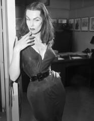 Vampira (thomasgorman1) Tags: vampira vintage halloween vampire retro woman bw monochrome portrait gothic goth black 1950s