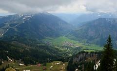 Wendelstein - Valley View (cnmark) Tags: mountain alps germany bayern deutschland bavaria range bayrischzell clouds landscape alpen brannenburg mangfallgebirge ©allrightsreserved wettersteinkalk landschaft wolken