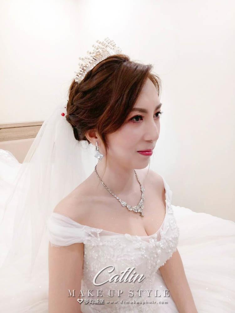 【新秘Catlin 】bride曉璇 結婚造型 /優雅公主