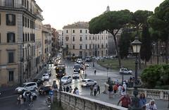 View from the Campidoglio - DSC03891_ep (Eric.Parker) Tags: rome roma italy 2019 europe campidoglio moon fullmoon moonrise roman forum
