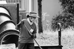Janitor (odeleapple) Tags: olympus ome em1 zuiko digital 70300mm zd janitor monochrome bw