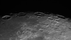 The Great Eastern Chain (Zeta_Ori) Tags: moon luna selene greateasternchain lunarlandscape lunarterminator lunarpanorama terminator crater langrenuscrater vendelinus petaviuscrater furnerius celestronadvancedvxmount celestron8edgehd zwoasi290mm autostakkert3 registax bw blackandwhite monochrome