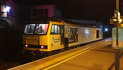 60046 0Z60 Loughborough 30/10/19. (37260 - 9.5 million+ views, many thanks) Tags: 60046 0z60 loughborough 301019 test run dcr tug