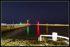 IMG_0204 (Scotchjohnnie) Tags: whitby yorkshire northyorkshire westpier eastpier lowlight longexposure riveresk canon canoneos canon6d canonef24105mmf4lisusm scotchjohnnie reflection