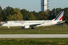 F-HBLM (PlanePixNase) Tags: aircraft airport planespotting haj eddv hannover langenhagen embraer 190 e90 e190 hop airfrance