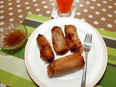 fried spring rolls (DOLCEVITALUX) Tags: friedspringrolls pritonglumpia lumpiangprito lumixlx100 panasoniclumixlx100 panasoniccameras food meal