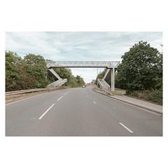 Middle Lane (John Pettigrew) Tags: topographics lines tamron d750 imanoot angles urban ordinary bridges documentary cars roads nikon banal johnpettigrew mundane