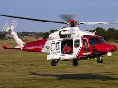 HM Coastguard | AgustaWestland AW189 | G-MCGV (Bradley's Aviation Photography) Tags: aw189 agustawestlandaw189 bristow bristowhelicopters hmcoastguard gmcgv a189 hmcg coastguard beccles becclesairfield egsm helicopters helicopter heli