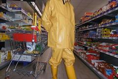 Guy Cotten rainwear (lulax40) Tags: gummistiefel pvc hunter humiliation fetisch fetishist rubber rubberboots regenkleidung raingear rainwear guy cotten