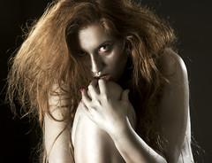 Demoniac (photokiss10) Tags: persone girl demoniac evil inferno