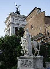 DSC03892_ep (Eric.Parker) Tags: rome roma italy 2019 europe campidoglio moon fullmoon moonrise roman forum