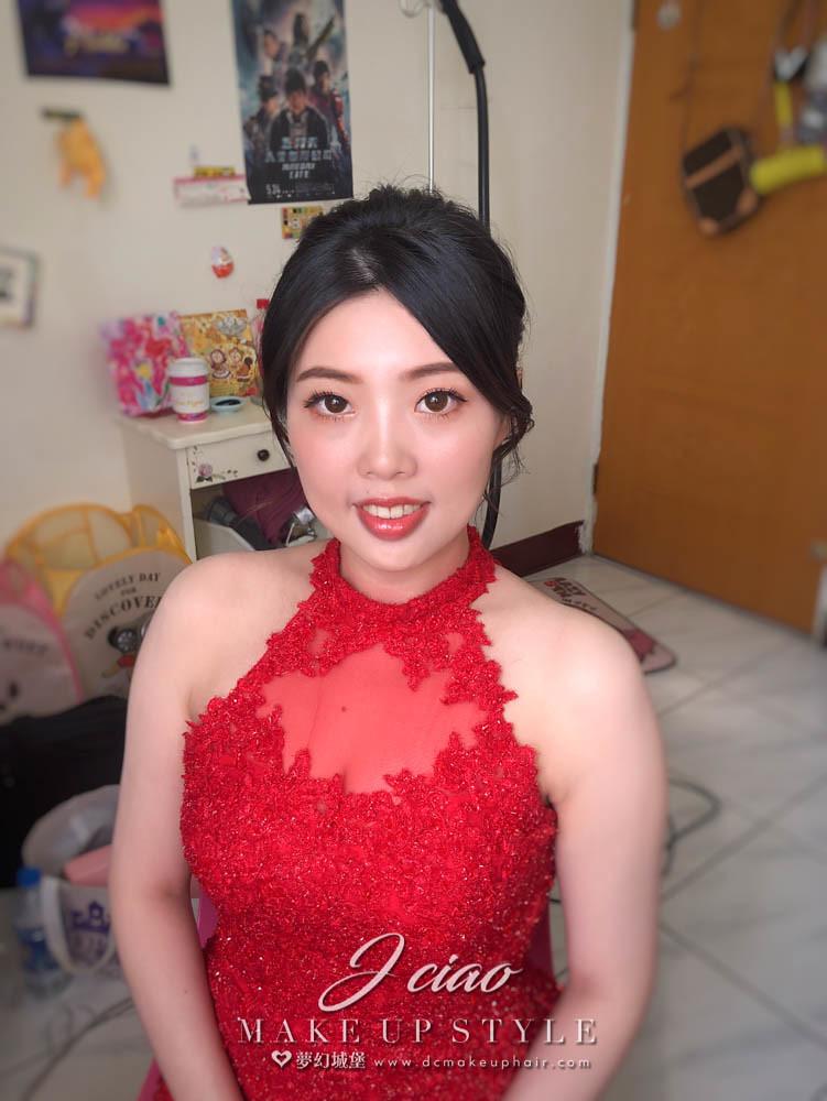 【新秘婕喬】bride庭薏 訂婚造型 / 韓式盤髮