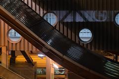 Bahnhof Bern (Role Bigler) Tags: bahnhof fujifilmxh1 fujinonxf90mmf2rlmwr nacht architecture bahnhofbern building city night railwaystation roundwindows schweiz stadt suisse svizzera switzerland train zug